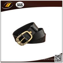 Estilo clásico de cuero genuino mujeres cinturón