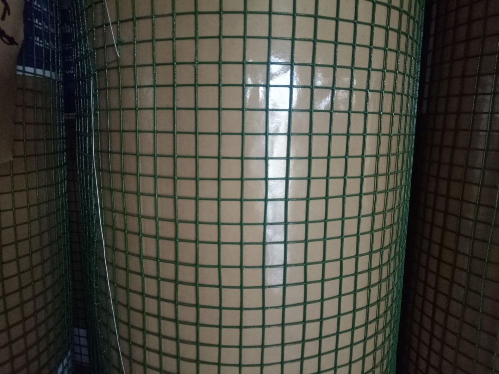 Black Pvc Coated Wire Mesh for Constructions