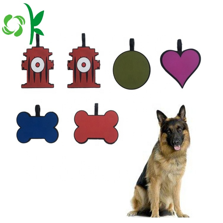 Silicone Pet Id Tag