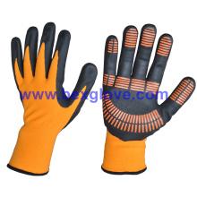 Nitril Handschuh, Anti-Rutsch, Punkte auf Palme