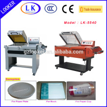 Small semi automatic shrink wrap machine