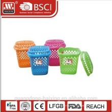 Hot vente et nouveau panier à linge en plastique (32L) / panier à linge avec couvercle