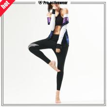 OEM-Fabrik-kundenspezifische Frauen-Fitness-Gym-Kleidung-Abnutzung