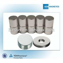 Высококачественные крупные промышленные магниты в индивидуальных формах, сорта N35-N38AH