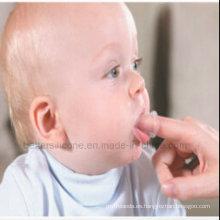 2015 Cepillo Eco-Friendly más caliente del dedo del bebé del silicón
