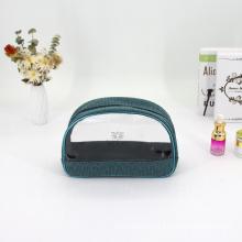 Personalized Custom Logo Makeup Three pcs Set Waterproof PVC Neceser Transparente
