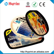 2015 high quality first class custom IML In Mold Label packaging