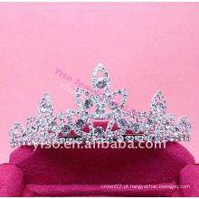 Tiara de diamante de casamento