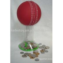 piggy bank---Cricket ball