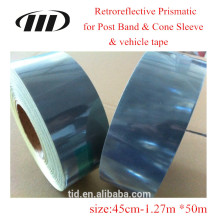 Cobertura reflexiva microprismática