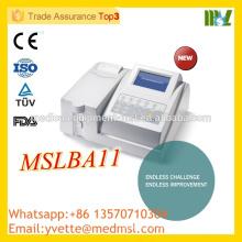 MSLBA11 Factory Price Analyseur de biochimie semiautomatique fabriqué en Chine