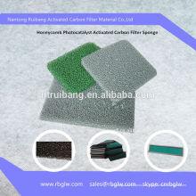 Активированный Пористый Фильтр-Фотокаталитический Губка Углерода