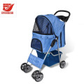 4 Wheels Oxford Foldable Pet Dog Cat Strollers