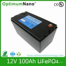 Глубокого цикла Липо батарея 12V 100ah для гольфа и Караван