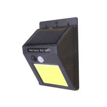 COB LED Solar PIR Sensor de luz de parede