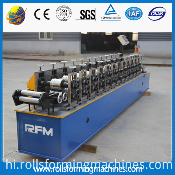 steel roller door machine