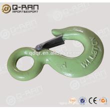 Fragua de gota productos gancho/Aparejo de elevación galvanizado gancho de elevación