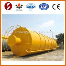 Top quality 100 ton mobile cement silo trailer