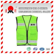 Green High Vis Traffic Safety Vest (vest-6)