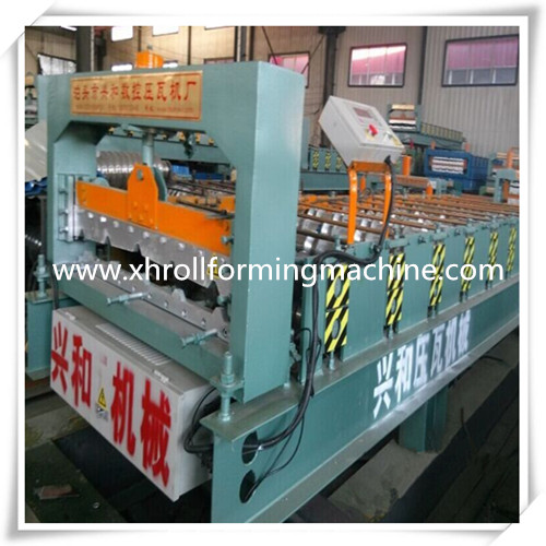 900 popular roof tile metal sheet roll forming machine