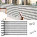 Color stripe sun shade privacy balcony net