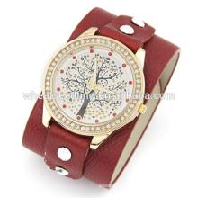 Дешевые пользовательские часы cute leather watch