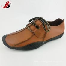 Homens mais recente lazer sapatos de couro sapatos de couro artesanal (ff715-10)