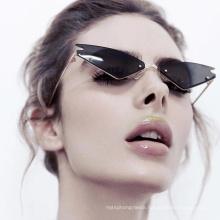 New Fashion Cat Eye Sunglasses Wild Colorful Sunglasses Street Shooting Sunglasses