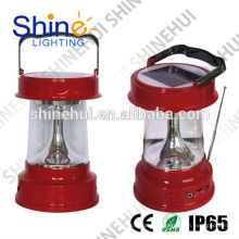 Linterna llevada ultra brillante de la alta calidad que acampa linterna llevada solar para el hogar