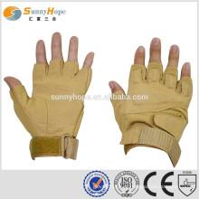 Luvas sem dedos SUNNY HOPE com Spandex para luvas mecânicas