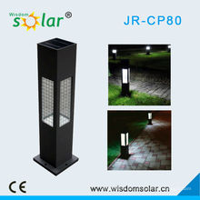 Lâmpada de jardim solar iluminação quente CE; jardim lâmpada com all-in-one style(JR-CP80)