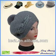 LSA52 Ningbo Lingshang Hign Quality Factory Price winter knitting snapback hats