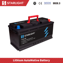 Batterie de voiture au lithium 12V 110-20 / (type standard)