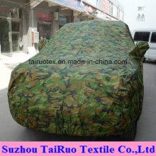 Bedruckte Autoabdeckung aus 100% Polyester-beschichtetem Stoff