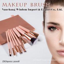8PCS/Set Cosmetic Facial Makeup Brush Set with PVC Leather