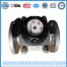 Medidor de agua Woltmann de acero inoxidable