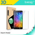 Anti-blue ray 3D full cover tempered glass for Xiaomi Note2 screen protector