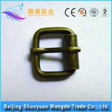 China bom fornecedor de metal saco pino fivela acessório vestuário pino personalizado fivela para a bagagem