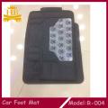 Caliente venta PVC goma patrón impreso alfombrilla de coche
