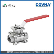 Professional manufacturer High quality SS 3PC BALL VALVE