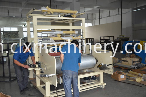 PE protective film making machine