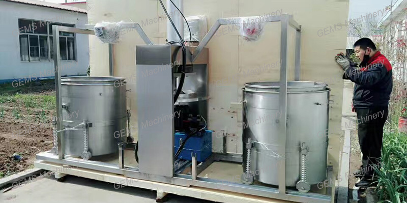 Hydraulic Cold Press Apple Juicer Machine