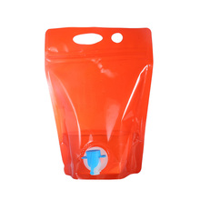 stand up pouch with zipper bag