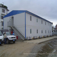 Modularer Stahlbau für Unterkunftslösung