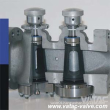 Sleeve Tapered Dbb Plug Valve with PTFE Lined