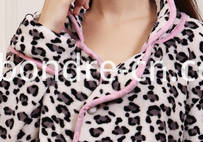 Women's Animal Pattern Fleece Pajamas