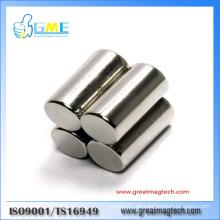 Super N52 zylindrische NdFeB Permanent Magnete