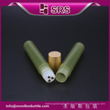 Rolo de fabricante em 15ml de mancha de essência de erva de plástico removendo o frasco de creme