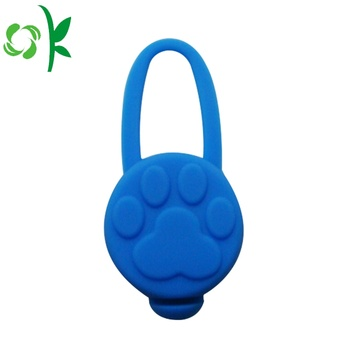 Collier Pet Tag Avec Silicone LED Dog Tags