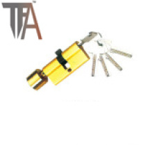 Gold Printing One Side Open Lock Cylinder